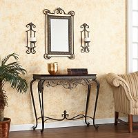 Mitchell 4 pc Console, Mirror & Sconce Set