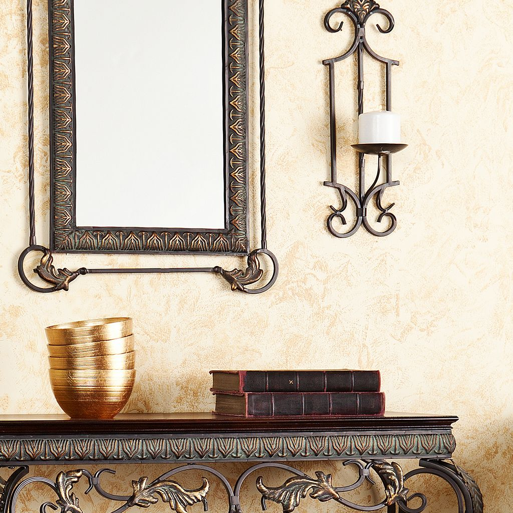 Mitchell 4-pc. Console, Mirror and Sconce Set