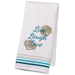 SONOMA Goods for Life™ Shoreline 'Live Laugh Love' Hand Towel
