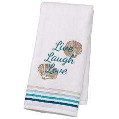 SONOMA Goods for Life™ Shoreline 'Live Laugh Love' Hand Towel