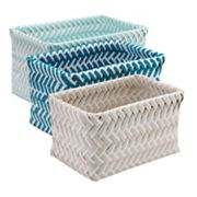 SONOMA Goods for Life™ Shoreline 3 pc Nesting Basket Set