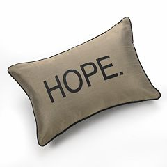 Edie Inc. 'Hope' Decorative Pillow