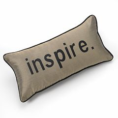Edie Inc. Pillow Talk 'Inpsire' Decorative Pillow