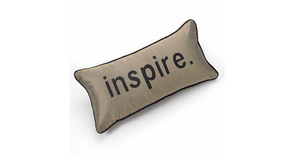 Tea Towels Pillow Talk: Edie Inc. Pillow Talk Inpsire Decorative Pillow