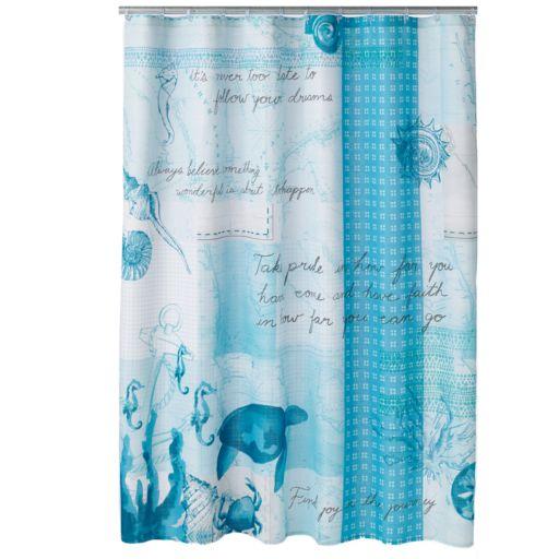 SONOMA Goods for Life™ Shoreline Fabric Shower Curtain