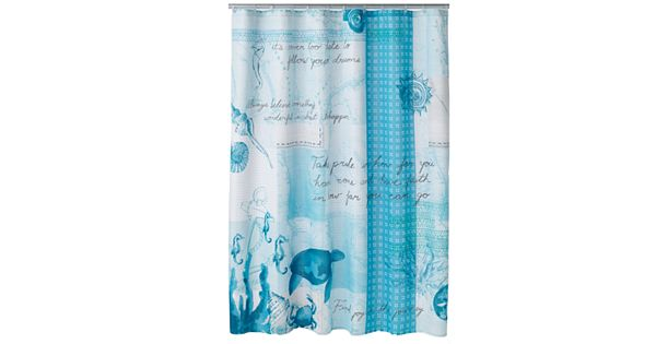 Sonoma Goods For Life Shoreline Fabric Shower Curtain