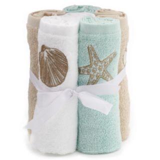 SONOMA Goods for Life? Shoreline 6-pk. Washcloths