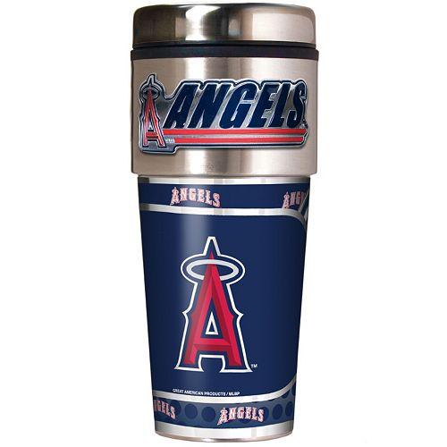 Los Angeles Angels of Anaheim Stainless Steel Metallic Travel Tumbler