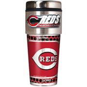 Cincinnati Reds Stainless Steel Metallic Travel Tumbler