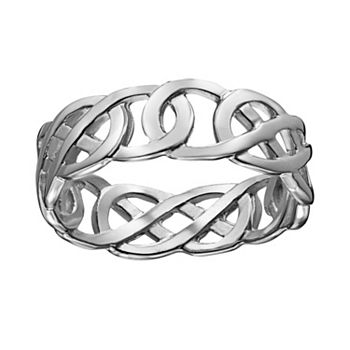 galway celtic trinity jewellers claddagh rings sterling ring silver knot