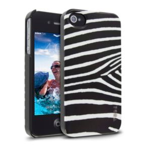 Cellairis Zebra Black iPhone 4 and 4S Cell Phone Case