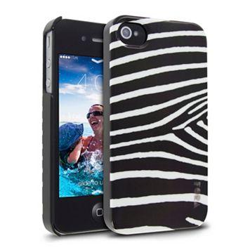 Cellairis Zebra Black iPhone 4 & 4S Cell Phone Case