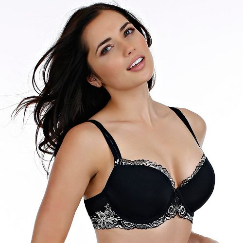 Paramour by Felina Bra: Madison Contour Demi Bra 255946