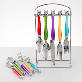 Food Network? Multicolor 20-pc. Flatware Set