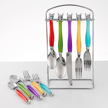 Food Network™ Multicolor 20-pc. Flatware Set