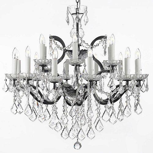 Gallery Baroque 18-Light Chandelier