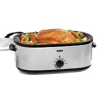 Bella 18-qt. Stainless Steel Turkey Roaster Oven