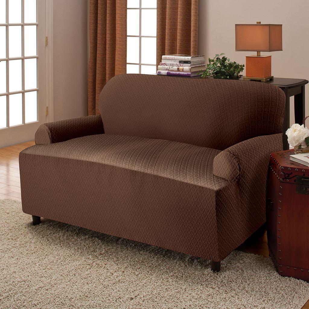 Stretch Sensations Victoria Stretch T-Cushion Sofa Slipcover