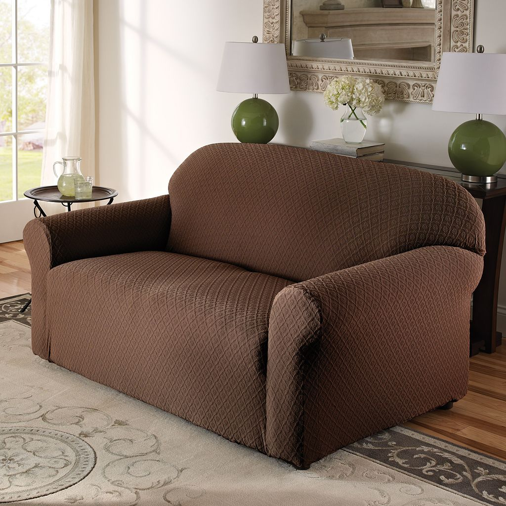 Stretch Sensations Victoria Stretch Loveseat Slipcover