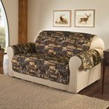Jeffrey Home Lodge Microfiber Loveseat Protector