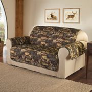 Innovative Textile Solutions Lodge Microfiber Loveseat Protector