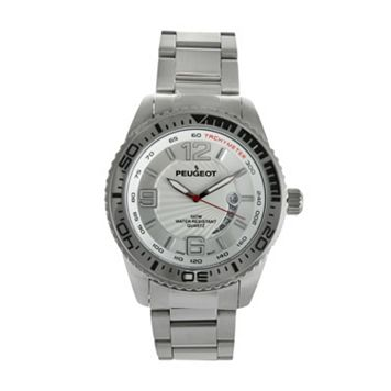 Peugeot Men's Stainless Steel Watch - 1030S