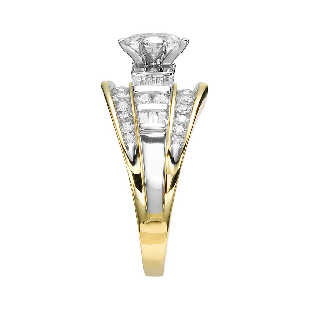 Cherish Always 10k Gold 1 Carat T.W. Diamond Marquise Ring