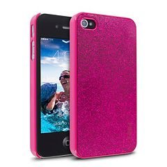 Cellairis Hot Pink Glitter iPhone 4 & 4S Cell Phone Case