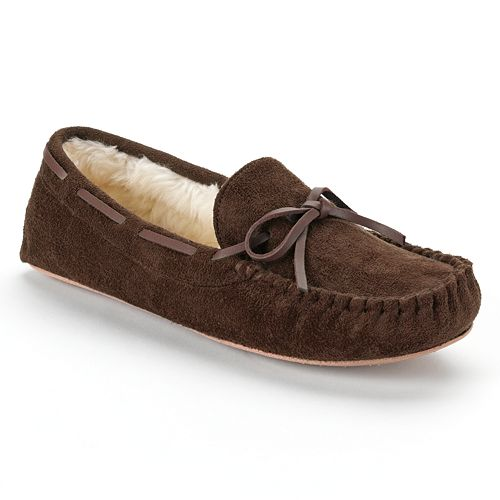 e5522cd6b62e SONOMA Goods for Life™ Microsuede Moccasin Slippers - Women
