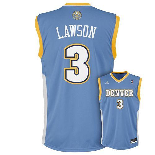 sports shoes a5a08 8cbc0 adidas Denver Nuggets Ty Lawson NBA Jersey - Men
