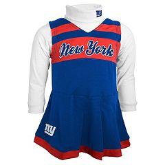 Baby New York Giants Cheerleader Jumper Set