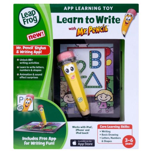 LeapFrog Learn to Write Mr. Pencil and App