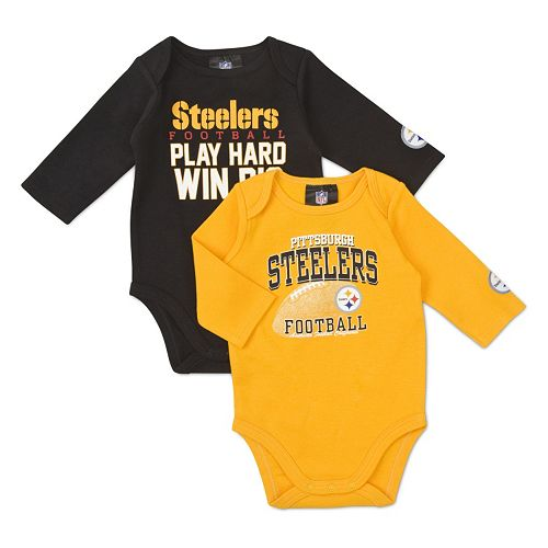 586e62290 Pittsburgh Steelers 2-pk. Bodysuit Set - Baby