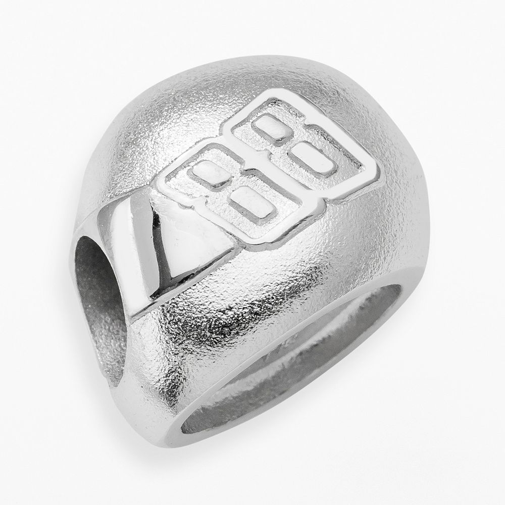 Insignia Collection NASCAR Dale Earnhardt Jr. Sterling Silver 88 Helmet Bead