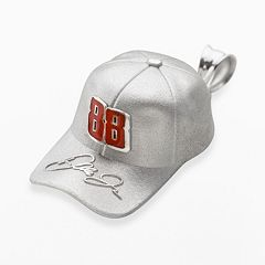 Insignia Collection NASCAR Dale Earnhardt Jr. Sterling Silver '88' Baseball Cap Pendant