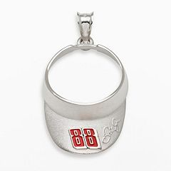 Insignia Collection NASCAR Dale Earnhardt Jr. Sterling Silver '88' Visor Pendant