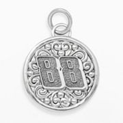 Insignia Collection NASCAR Dale Earnhardt Jr. Sterling Silver '88' Pendant