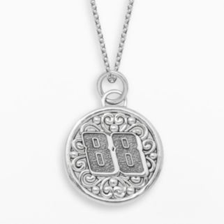 Insignia Collection NASCAR Dale Earnhardt Jr. Sterling Silver 88 Pendant