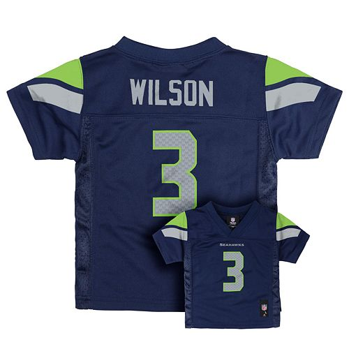 best value b4e84 a8052 Seattle Seahawks Russell Wilson Jersey - Baby