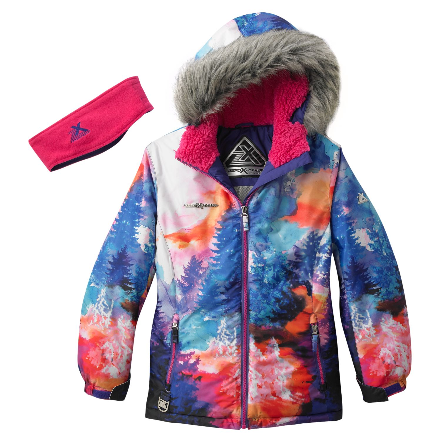Kohls Zero Exposure Jackets Girls