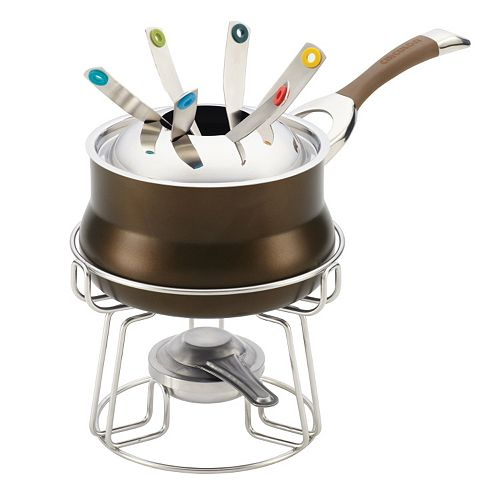 Circulon Symmetry 3.75-qt. Nonstick Hard-Anodized Fondue Set