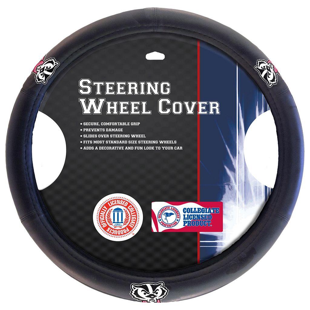 Wisconsin Badgers Steering Wheel Cover