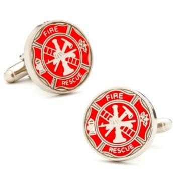 Firemens Shield Cuff Links