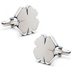 Four Leaf Clover Cuff Links
