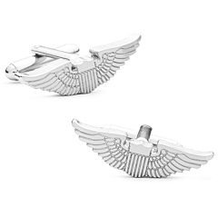 Aviator's Wings Cuff Links