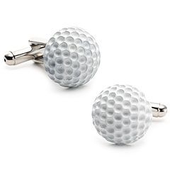 Enamel Golf Ball Cuff Links