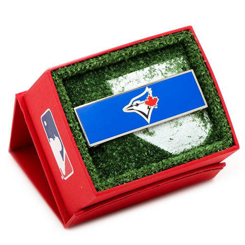 Toronto Blue Jays Rhodium-Plated Money Clip
