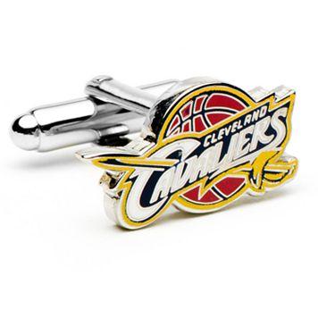 Cleveland Cavaliers Rhodium-Plated Cuff Links