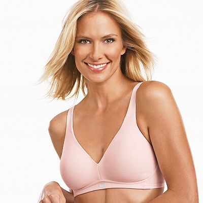 Bali Downtime Cool Stretch Full-Figure Bra - 3375