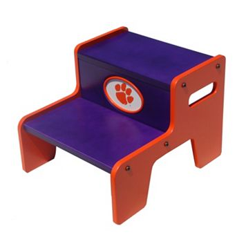 Clemson Tigers Two-Tier Step Stool